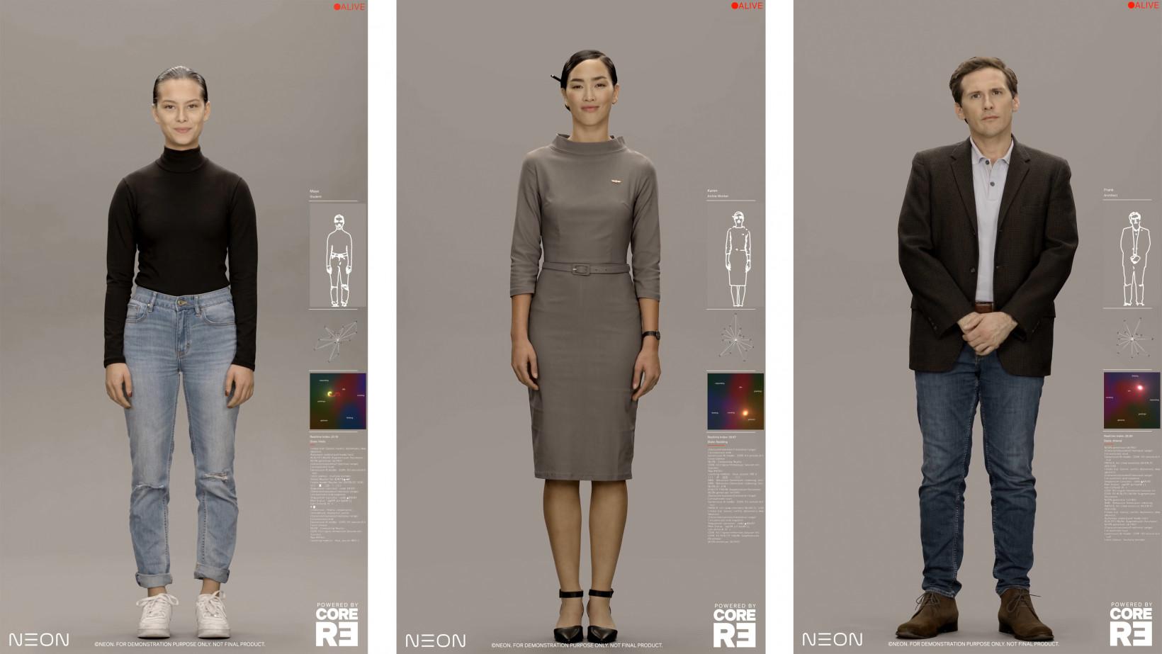 Samsung is working on lifelike AI-powered avatars to fill in for humans三星Neon项目首亮相:有情感、有记忆、会学习