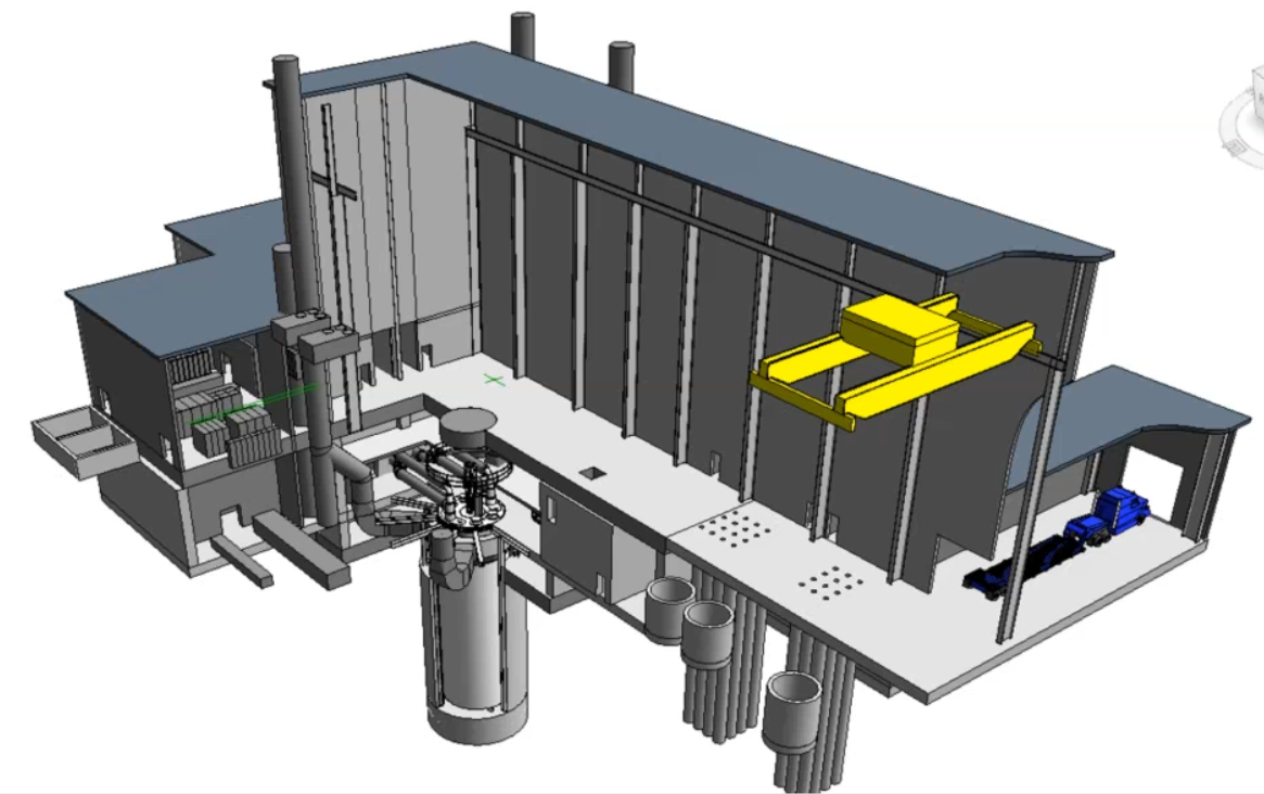 Bill Gates' TerraPower and GE Hitachi team up on proposal to build a new nuclear reactor for research比尔·盖茨的泰拉能源公司和通用日立公司联合提出建造一个新的核反应堆用于研究