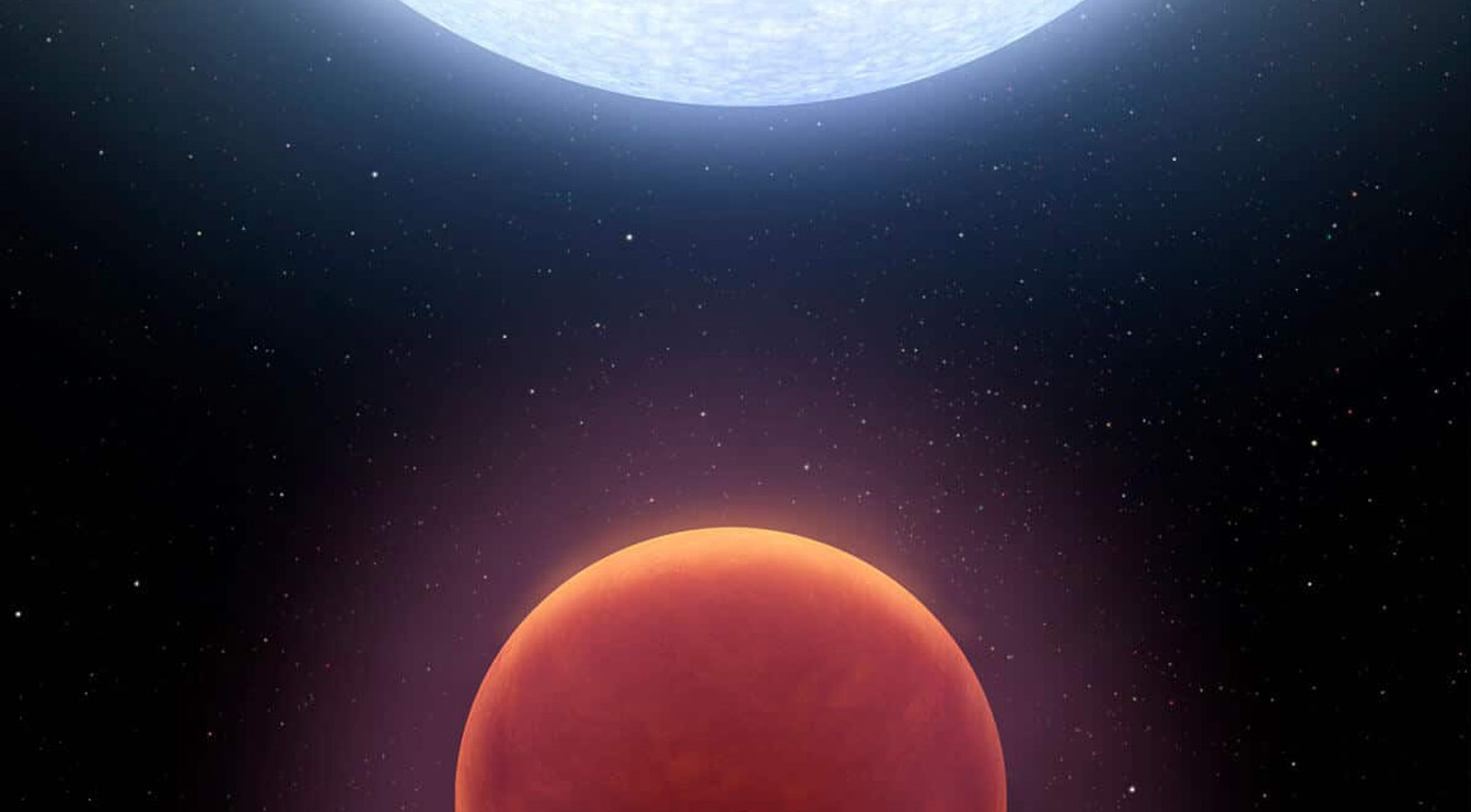 The Hottest Known Planet Continuously Melts its Own Atmosphere已知最热的行星——KELT-9b,气温高达4300℃,接近太阳表面温度