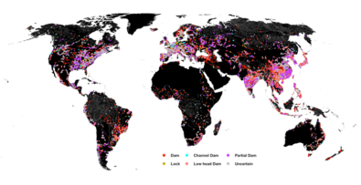 Europe's Rivers Are the Most Obstructed on Earth欧洲的河流拥有地球上最多的人类建筑设施