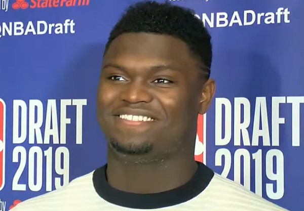 Zion Williamson reportedly weighs over 300 pounds据报道,锡安·威廉姆森实际体重超300磅