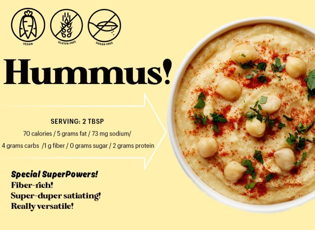 The Nutrition Low-Down on Hummus鹰嘴豆泥的营养成分