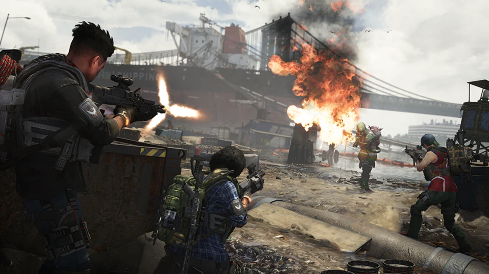 'The Division 2' hits Stadia with PC cross-play on March 17th《全境封锁2》将于3月17日在Stadia上线