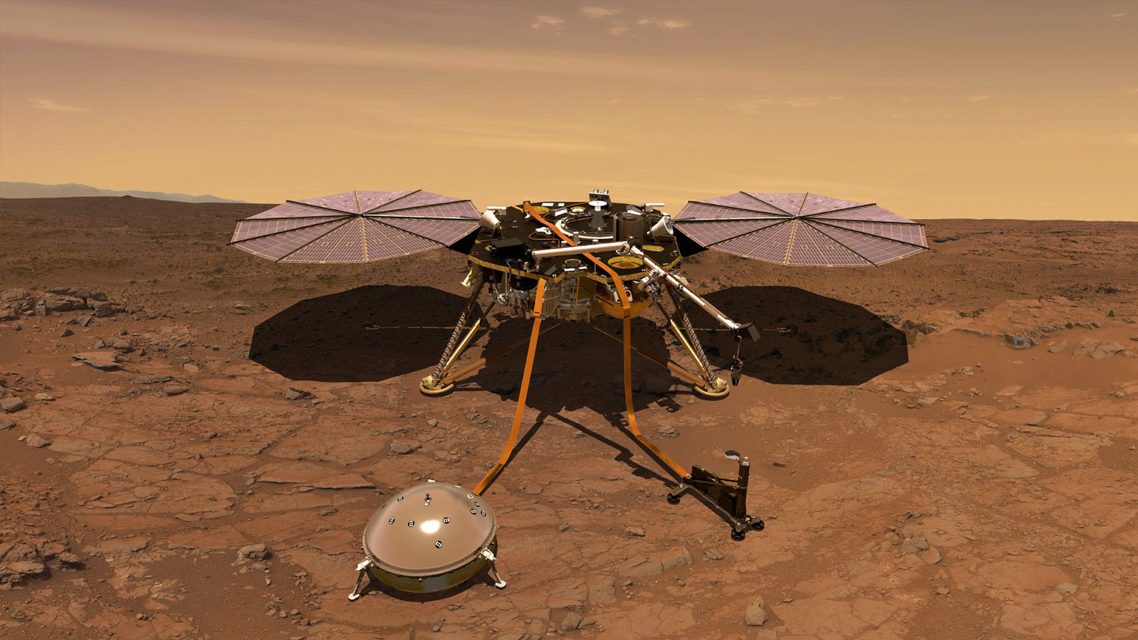 "NASA's InSight Lander Finds Mars Magnetic Field Is 10 Times Stronger Than Expected美国宇航局的""洞察""号着陆器发现火星磁场比预期强10倍"