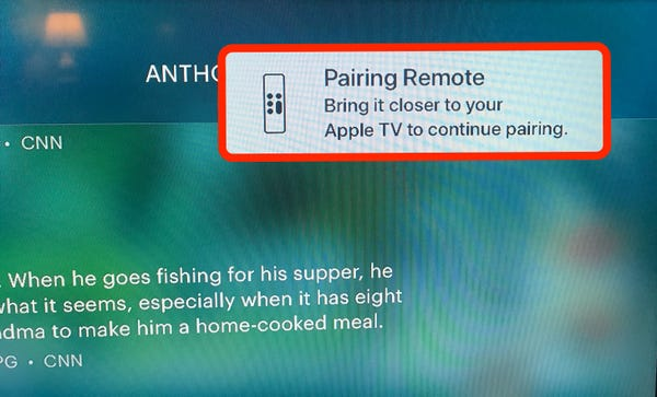 How to reset an Apple TV remote that's not working correctly, in 3 different ways如何用三种不同的方式重置一个无法正常工作的苹果电视遥控器