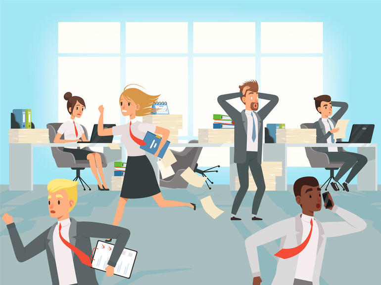 4 ways workplace stress can affect team relationships and projects工作压力影响团队关系和项目的4个方面