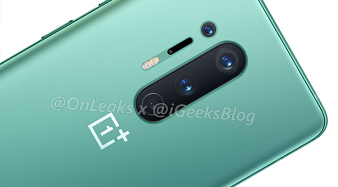 OnePlus 8 and 8 Pro Leak With Stunning Green Color, 5G Support一加8和8 Pro泄漏:惊人的绿色、5G支持