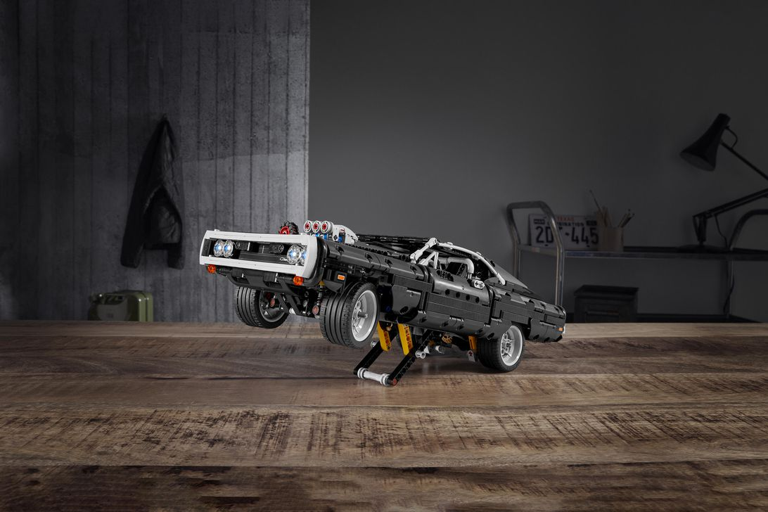 Lego Technic tackles Fast and Furious with kit for Dom's Dodge Charger乐高推出速度与激情中Dom的道奇战马
