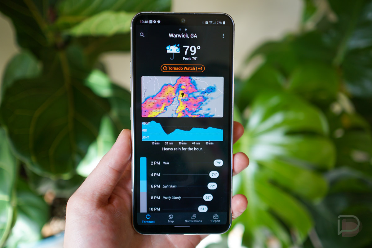 Apple Steals Popular Weather App From Android苹果从安卓偷了流行的天气应用