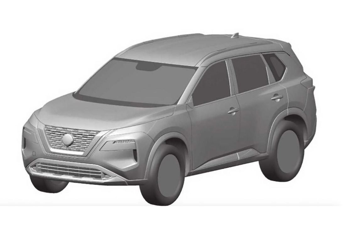 This is likely the next Nissan Rogue这可能是下一款Nissan Rogue