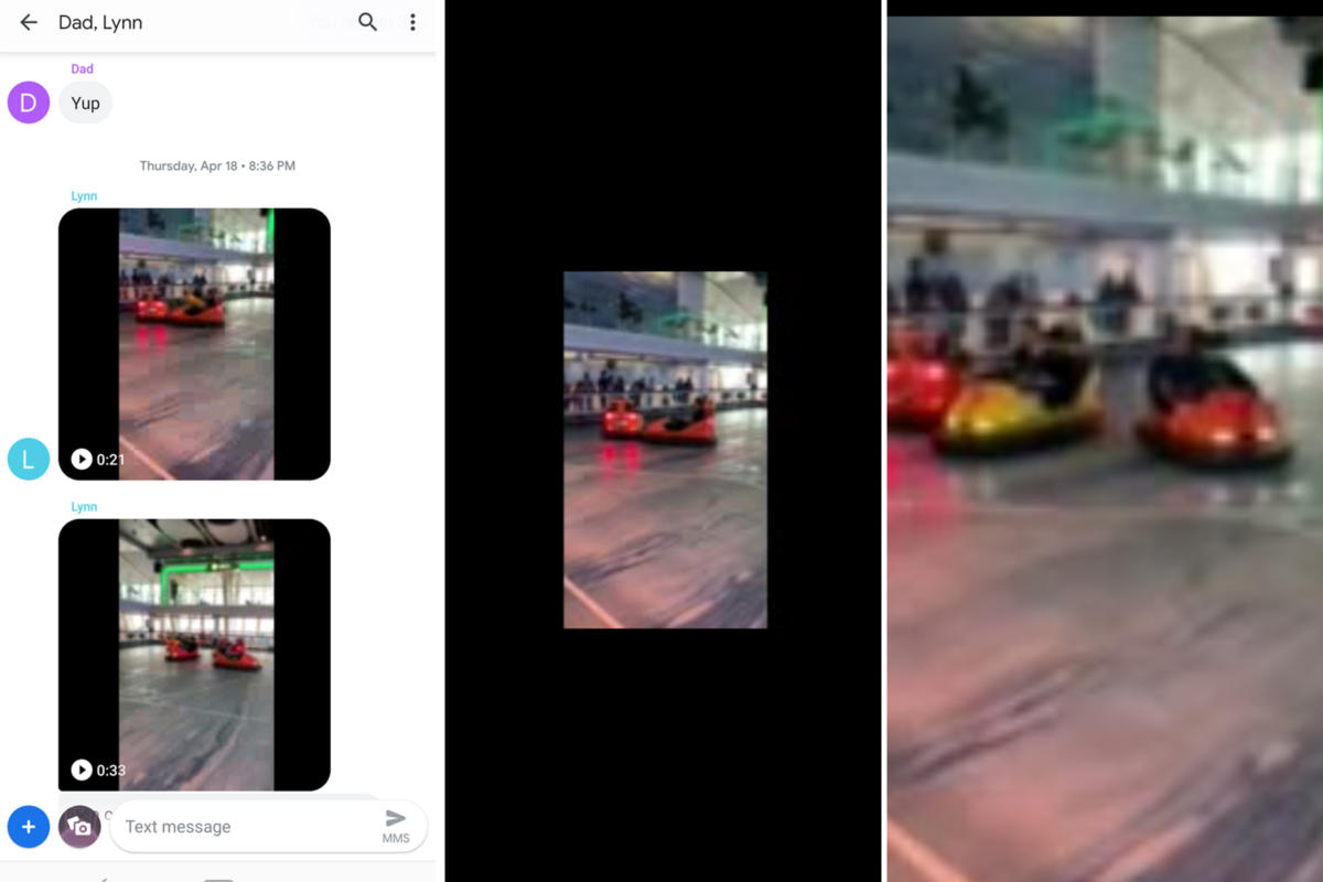 How to stop iPhone videos from turning into a blurry mess on Android phones (and vice versa)iPhone视频在安卓手机上变得模糊不清怎么办?(反过来也一样)