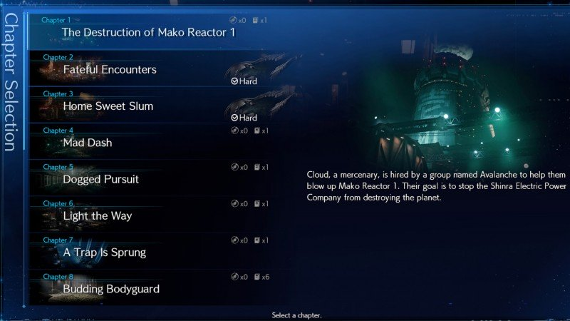 Final Fantasy VII Remake's New Game Plus Options Offer a Variety of Challenges《最终幻想7》重制版的新游戏+选项提供了各种挑战